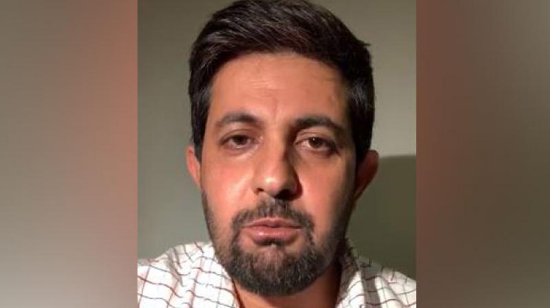 Hammal Haider, foreign spokesman of the Baloch National Movement. (Photo: ANI)