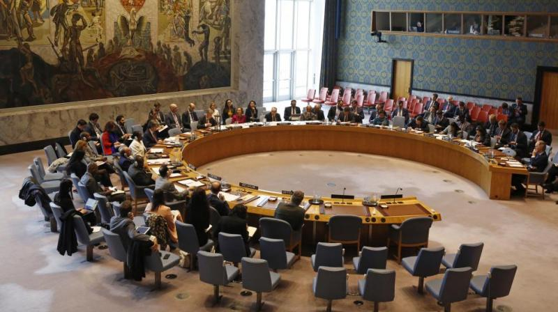 Closed meetings are not open to the public and no verbatim record of statements is kept. Consultations are informal meetings of the Security Council members and are not covered in the Repertoire. (Photo: File)