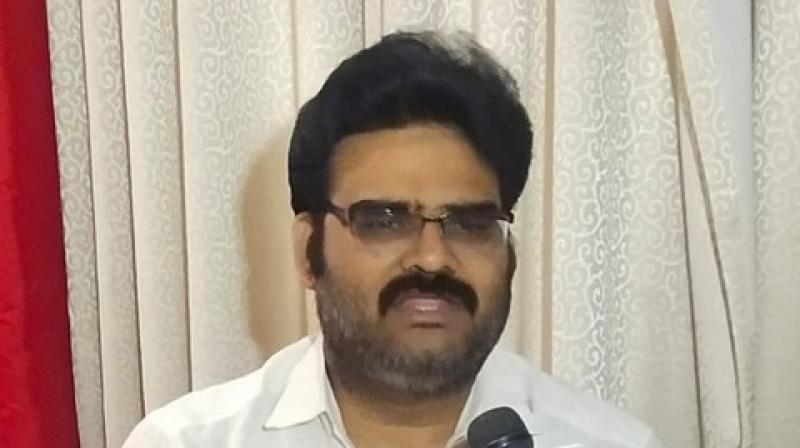 BJP leader Lanka Dinakar on Saturday demanded that the Central government should come forward to execute the Polavaram project as it has attracted various controversies since its inception. (Photo: ANI)