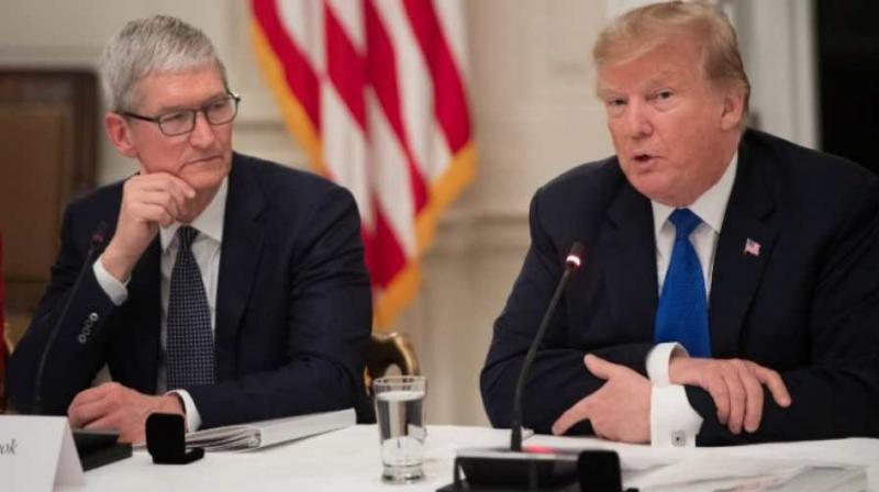 Apple will spend 'vast sums' in U.S., says Trump
