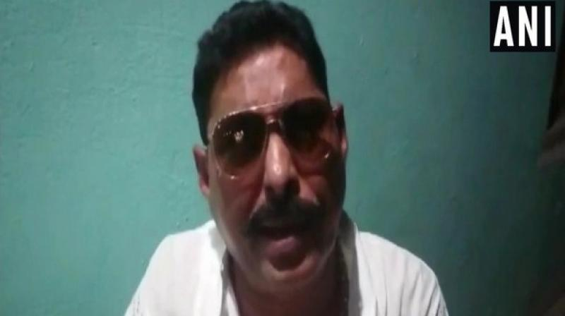 Independent MLA Anant Kumar Singh, who is facing heat after recovery of prohibited weapons from his residence has denied being afraid of arrest stating that he would be surrendering in next few days. (Photo: ANI)