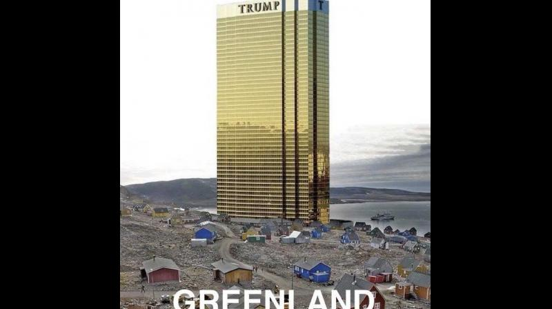 US President Donald Trump jokingly promised that he would not build one of his eponymous hotels in Greenland, the day after he confirmed his interest in buying the Danish territory. (Photo: Twitter/ Donald Trump)