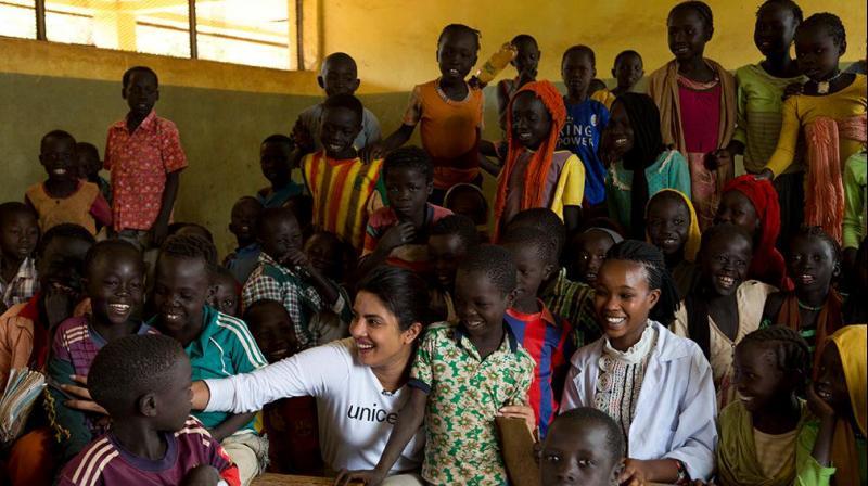 Priyanka Chopra was made a UNICEF Goodwill Ambassador in December, 2016. (Photo: Twitter)