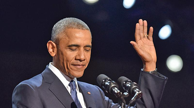 Barack Obama achieved the first objective in a messy sort of way while he could not come clean on the second, with some American troops remaining in Afghanistan after he leaves office.