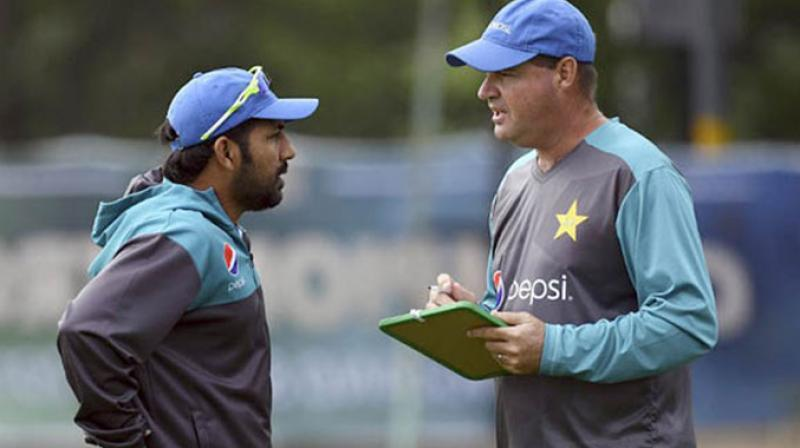 A well-placed source in the Pakistan Cricket Board told PTI that when the Cricket Committee meets later this month, a proposal to split the captaincy and coaching for the different formats would be up for discussion. (Photo:AFP)
