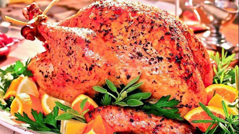 Woman who has been eating her mum's ashes since she dies in May will have her again for Xmas lunch by sprinkling her ashes on turkey roast.
