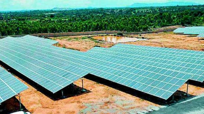 The global solar sector witnessed total corporate funding of USD 2 billion in the first three months of 2018, a decline of 65 per cent over the previous quarter.
