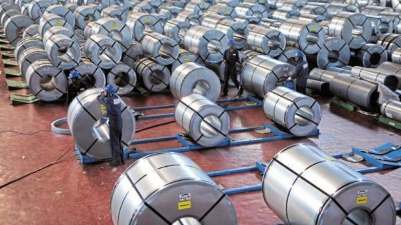 Although India is the second largest manufacturer of steel, it is also a net importer of steel. (Photo: File)