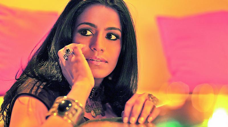 Singer Falguni Shah, or Falu as she is popularly known