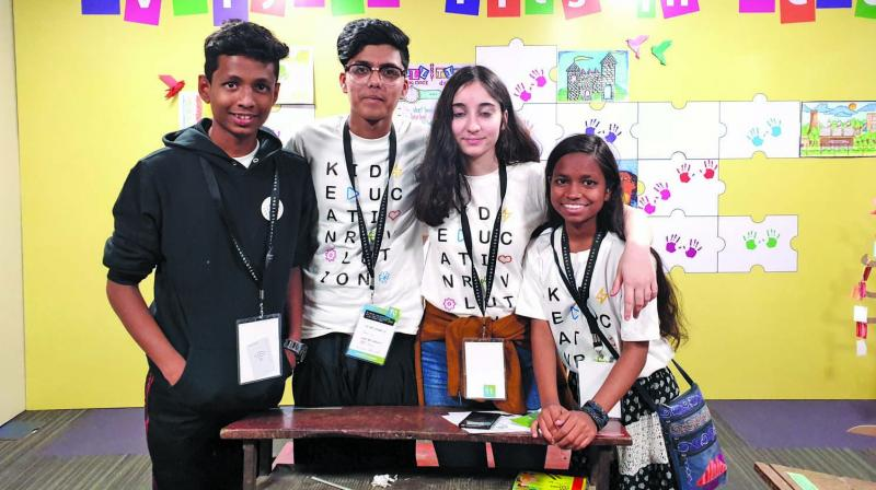 Students shared experience at KER 2019.