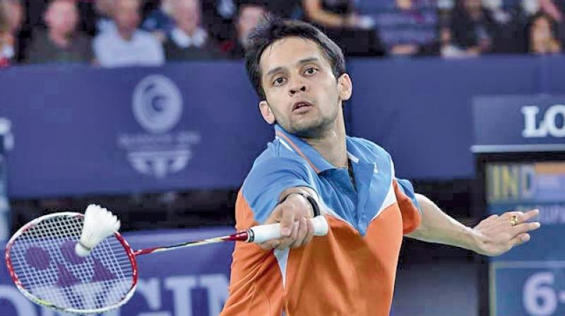 Earlier in the day, Sai Praneeth lost the first game by 21-9 and retired midway in the second after trailing by 11-7 in another first-round duel. (Photo: File)