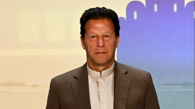 Pakistan Prime Minister Imran Khan. (AFP)