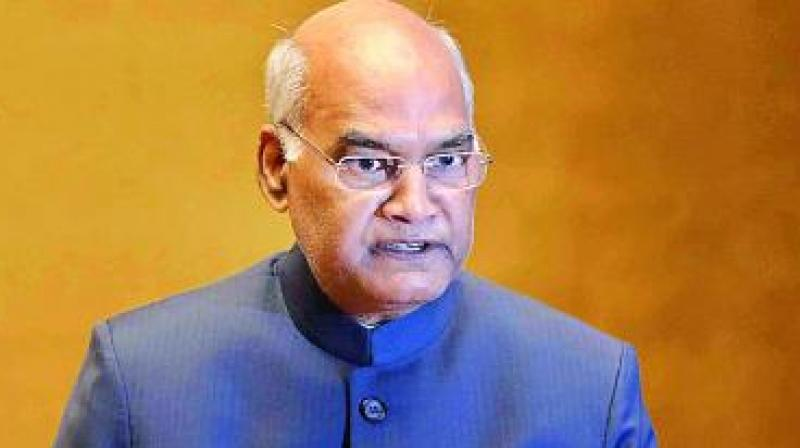 President Ram Nath Kovind. (Photo: File)