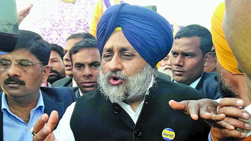 Sukhbir Singh Badal (Photo: PTI)