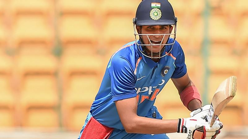 Punjab's target was reworked to 100 from 14 overs due to rains under VJD method but in the end, they could only score 97 for 4 to lose the match by two runs despite Shubman Gill's 42 ball 48. (Photo: PTI)