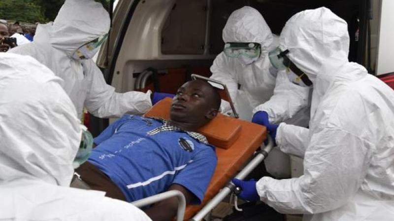 In early 2014, a handful of infections in southern Guinea mushroomed rapidly into an epidemic (Photo: AFP)