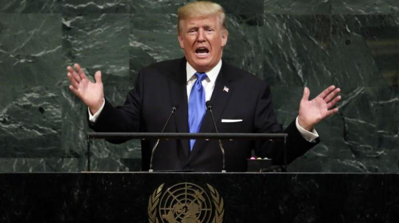 Trump criticised Israel's West Bank settlements, which the Palestinians and most of the international community view as illegal obstacles to peace. (Photo: File)