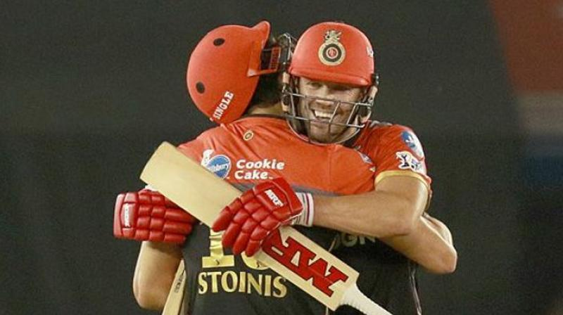 After Kohli got out, Stoinis said he had a chat with de Villiers on how to go about the target. (Photo: BCCI)