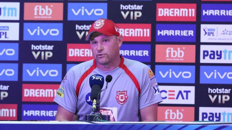 The wicket slowed up a bit through the middle and the RCB bowlers adapted pretty well and changed the pace on the ball, Harris told a post-match press conference here. (Photo: BCCI)