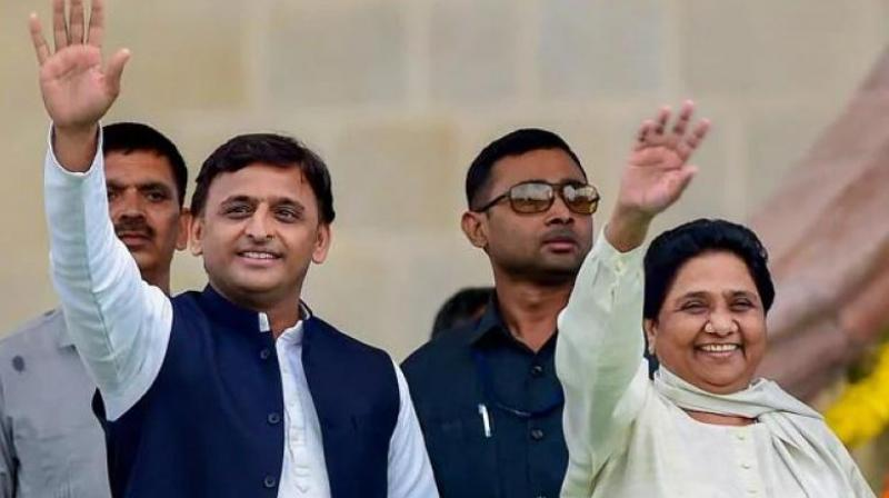 BSP chief Mayawati and SP president Akhilesh Yadav (Photo: File)