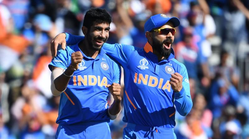 India skipper Virat Kohli and pace spearhead Jasprit Bumrah were the only two Indians who found a place in Wisden's T20 International team of the decade, which didn't feature Mahendra Singh Dhoni. (Photo: AFP)