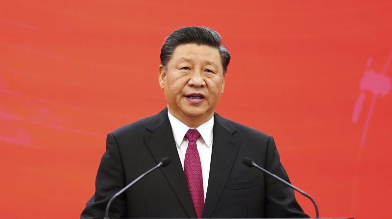 Chinese President Xi Jinping. (via AP)