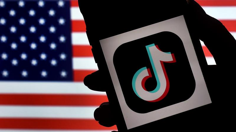 The TikTok mobile application has been downloaded some 175 million times in the US and more than a billion times around the world, according to the order. (AFP)