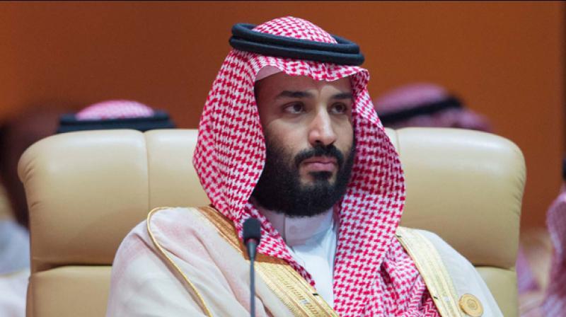 Saudi crown prince Mohammed bin Salman. (AFP)