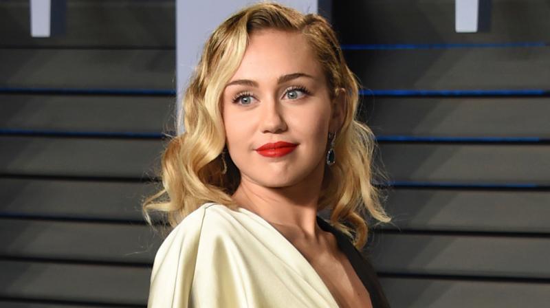 Singer-actor Miley Cyrus. (AP)