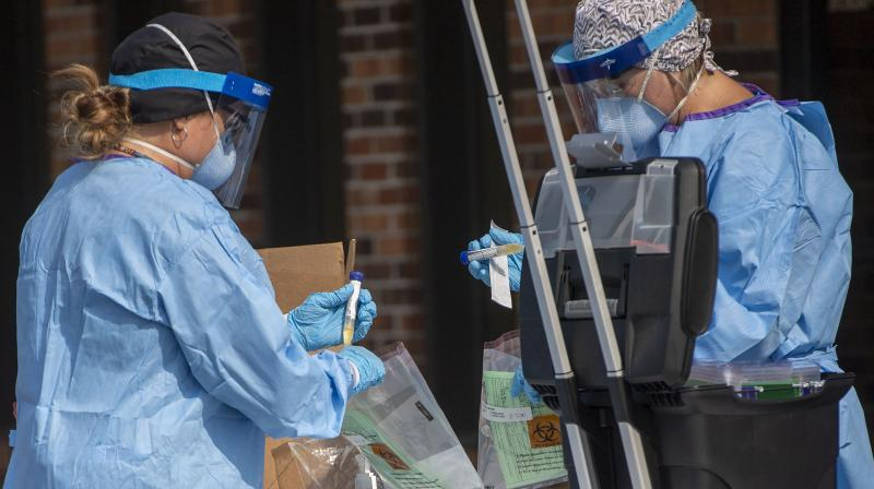 """Victoria state's authorities say welcomed a """"stabilisation"""" in coronavirus cases, saying the state had averted an exponential increase in infections due to its strict lockdowns. (AP)"""