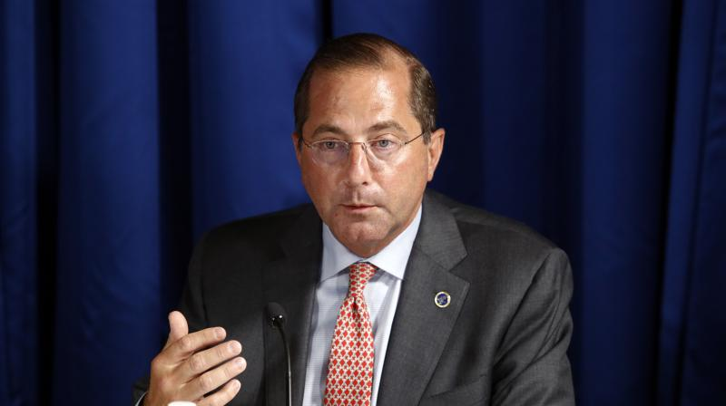 Health and Human Services Secretary Alex Azar. (AP)