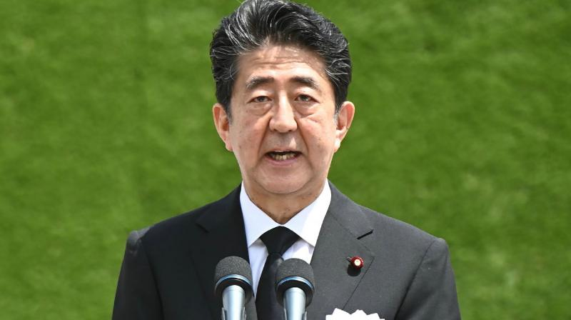 Japan's Prime Minister Shinzo Abe. (AFP)