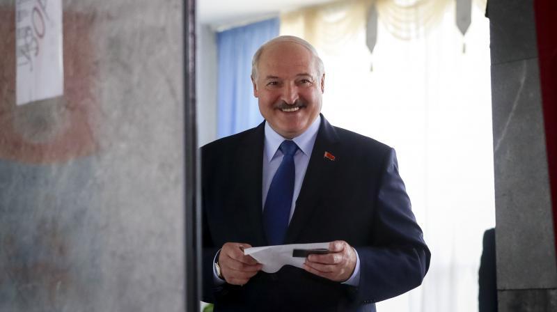 Belarusian President Alexander Lukashenko. (AP)