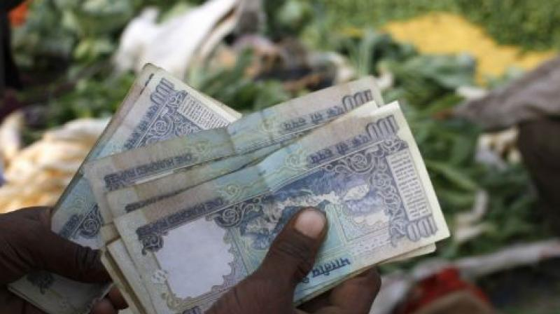 Rupee is trading at 66.88 against the dollar in early trade.