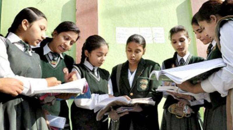 "So, it's not that someone would be given Maths stream just on the basis of the board exam marks,"" she said. However, students are not convinced. (Representational image)"