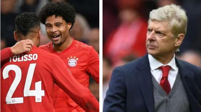 Arsene Wenger has contradicted a claim by Bayern Munich that they turned him down for the vacant head coach's job and accused the defending German champions of a lack of discretion. (Photo:AFP)