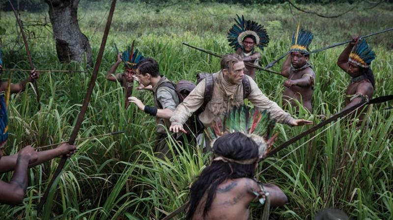 A still from 'The Lost City of Z.'