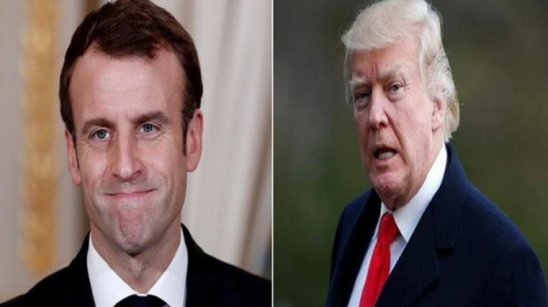 French President Emmanuel Macron had signed a legislation in July to establish a 3 per cent tax on large companies' revenues from digital services. (Photo: File)