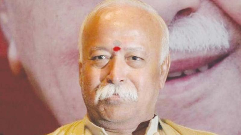 Bhagwat said a sense of idealism is good and described himself not as 'anti-modern', but as 'pro-future'. (Photo: File)