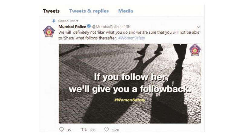Mumbai Police tweetd on Thursday