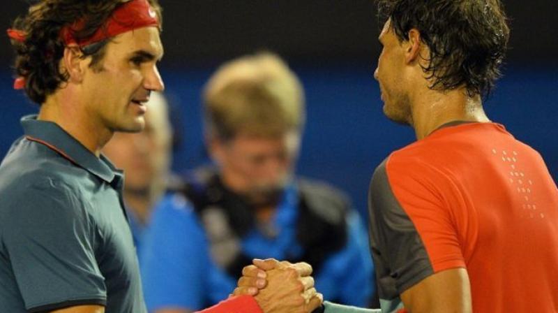 Roger Federer has never beaten Rafael Nadal at the Australian Open. (Photo: AFP)