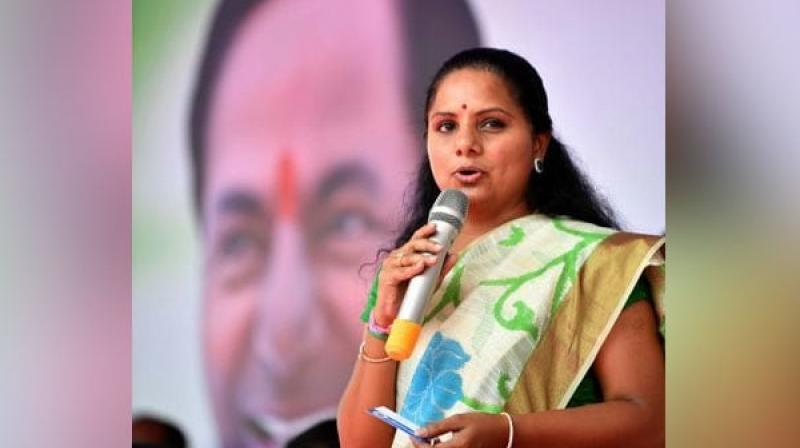 K Kavitha will seek re-election from the Nizamabad Lok Sabha constituency. (Photo: Twitter)