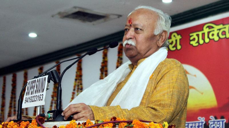 RSS chief Mohan Bhagwat (Photo: PTI)