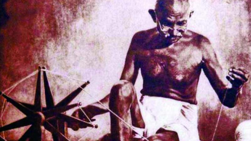 Mahatma Gandhi. (Image by: Margaret Bourke)