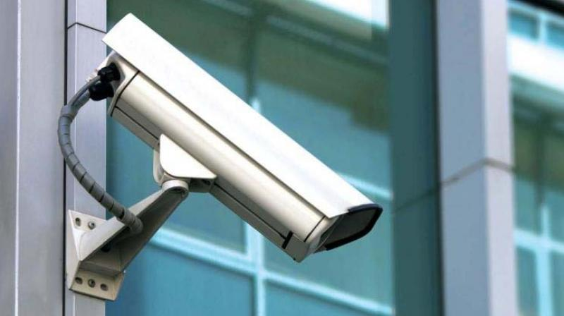 The police claimed that CCTV cameras in vulnerable areas of the national capital are meant to prevent crime and anti-terror activities.   (Representational image)