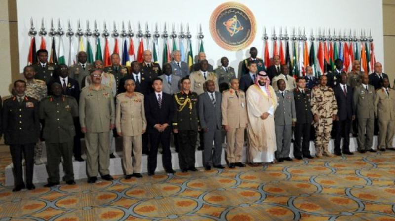 The summit is the first meeting of defence ministers and other senior officials from the Islamic Military Counter Terrorism Coalition, which officially counts 41 members. (Photo: AFP)