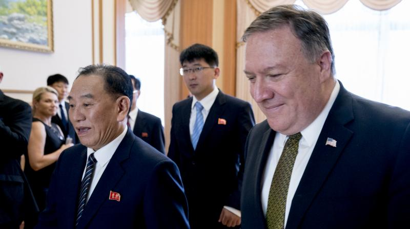 Secretary of State Mike Pompeo has wrapped up two days of talks with senior North Korean officials without meeting Kim Jong Un. (Photo: AP)