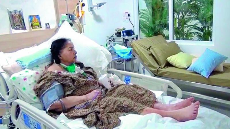 Reddy said that the cameras were turned off because Jayalalithaa was the only patient occupying the 24-bed intensive care unit. (Photo: File)