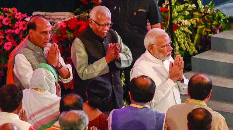 Not scared to be seen with businessman: PM Narendra Modi