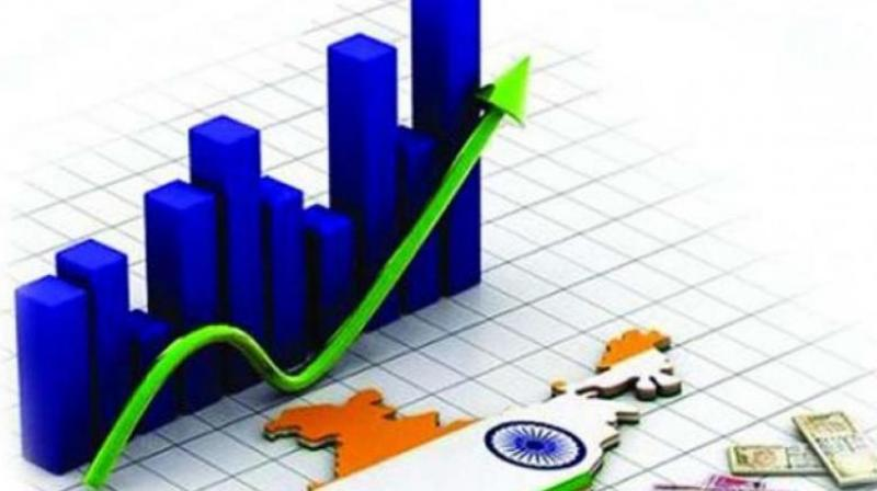 India's economic growth is expected to moderate in the second half of this financial year after a strong first quarter, owing to tighter financial conditions, high oil prices and slowing global growth, says a UBS report.
